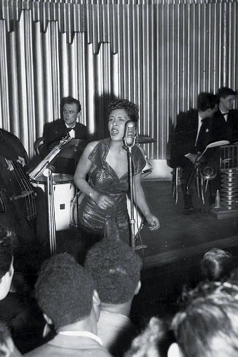 Billie Holiday, 1954