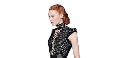 Model (Chantal Stafford Abbott at Marilyn NY)
