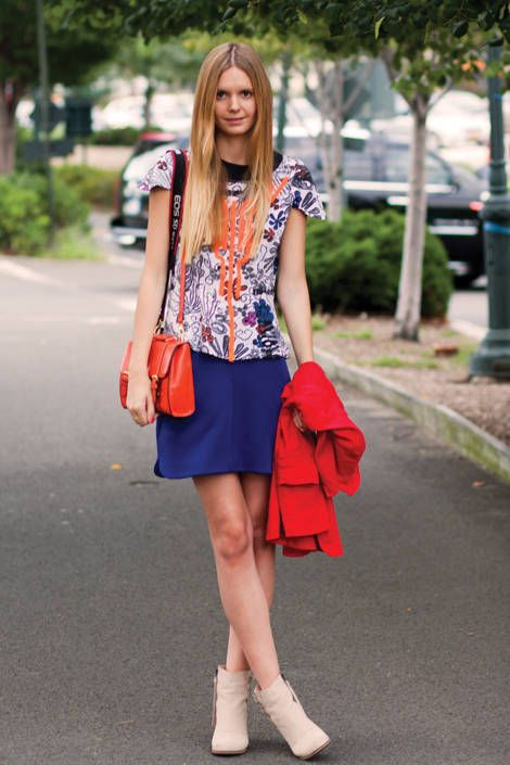 An easy ensemble of patterned top