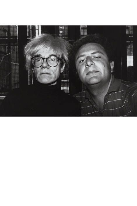 Andy Warhol and Pigozzi