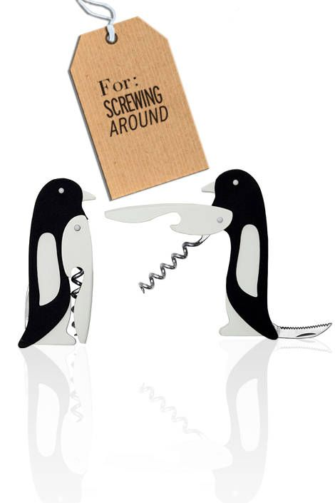 Penguin corkscrew