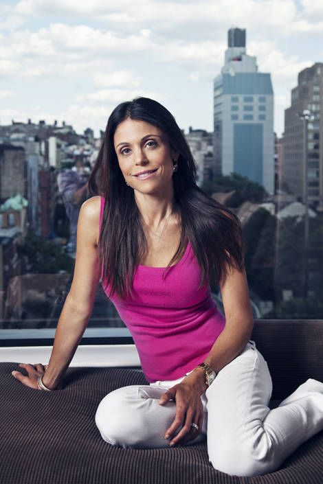 Bethenny Frankel, at home in New York City