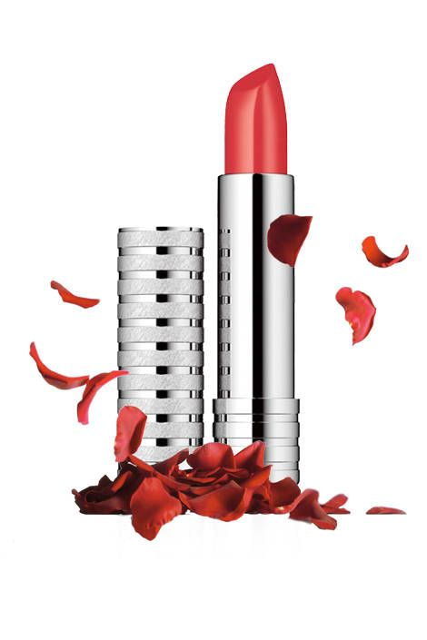 Clinique Long Last lipstick in Runway Coral