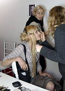 Christian Lacroix Spring 2005 Ready-to-Wear Backstage 0002