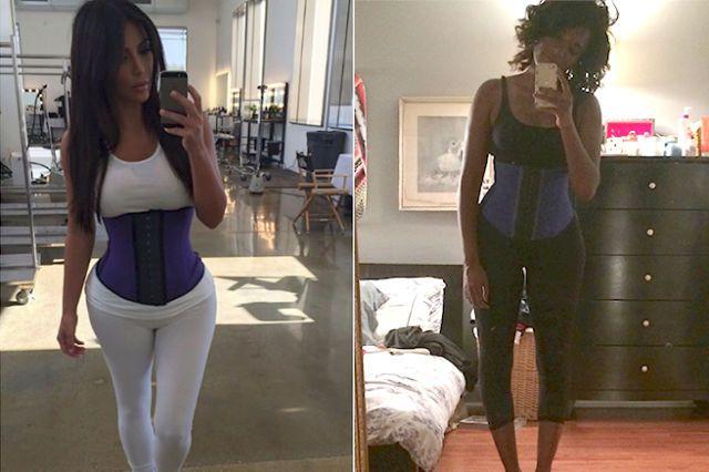 The Lazy Girl's Guide to Waist Training Like Kim Kardashian