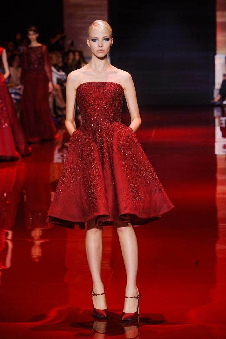 Elie Saab Fall 2013 Couture Runway - Elie Saab Haute Couture Collection