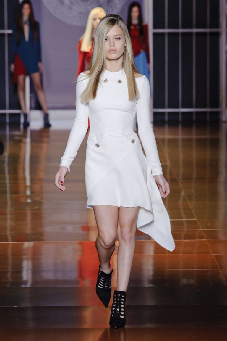 versace fall 2014 ready-to-wear photos
