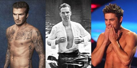 The Hottest Man Abs of 2014