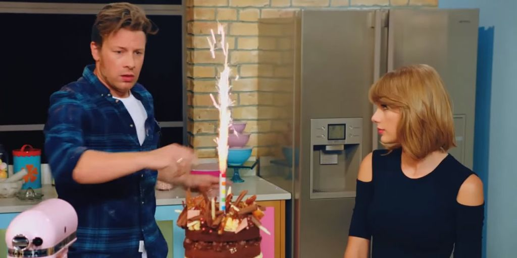 Watch Taylor Swift 'Bake It Off' with Jamie Oliver