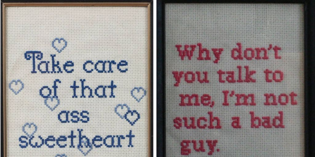 This Artist Turned Her Worst Catcalls Into Embroidery
