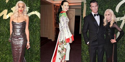 All the Action From the British Fashion Awards