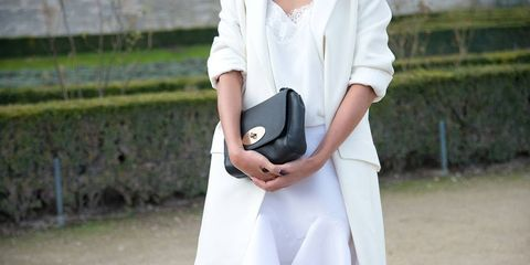 Clothing, Product, Collar, Sleeve, Textile, Hand, White, Style, Street fashion, Dress,