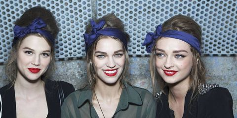 7 Patriotic Beauty Looks to Steal From the Runway
