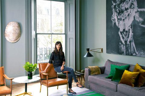 Inside a Fashion Designer's Chic London Flat