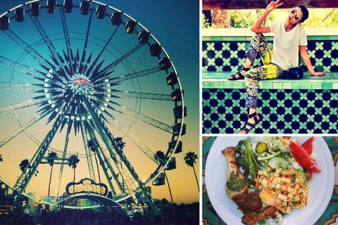 Ferris wheel, Photograph, Cuisine, Amusement ride, Spoke, Dish, Recipe, Tableware, Amusement park, Colorfulness,