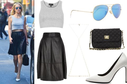 Eyewear, Product, Sleeve, Textile, White, Pattern, Bag, Style, Waist, Street fashion,