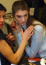 Pucci Fall 2003 Ready-to-Wear Backstage 0002
