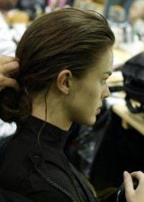 Celine Fall 2003 Ready-to-Wear Backstage 0002