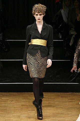 Cher Michel Klein Fall 2007 Ready-to-wear Collections - 003