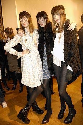 A.F. Vandevorst Fall 2007 Ready&#45&#x3B;to&#45&#x3B;wear Backstage &#45&#x3B; 003