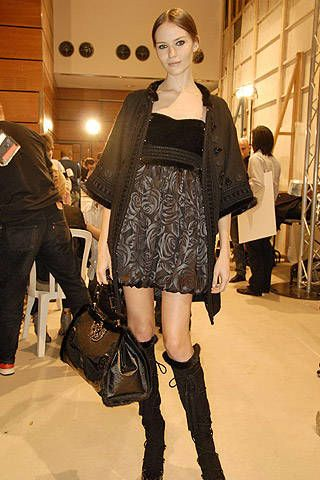 Andrew Gn Fall 2007 Ready-to-wear Backstage - 002