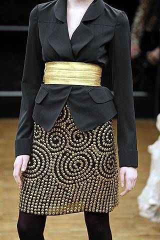 Cher Michel Klein Fall 2007 Ready-to-wear Detail - 002