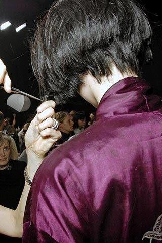Lanvin Fall 2007 Ready-to-wear Backstage - 002