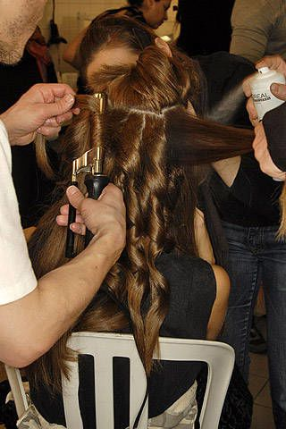 Leonard Fall 2007 Ready-to-wear Backstage - 003