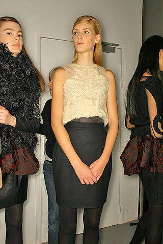 Sophia Kokosalaki Fall 2007 Ready&#45&#x3B;to&#45&#x3B;wear Backstage &#45&#x3B; 002