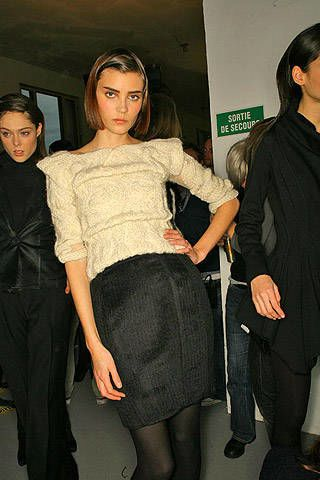 Sophia Kokosalaki Fall 2007 Ready&#45&#x3B;to&#45&#x3B;wear Backstage &#45&#x3B; 003