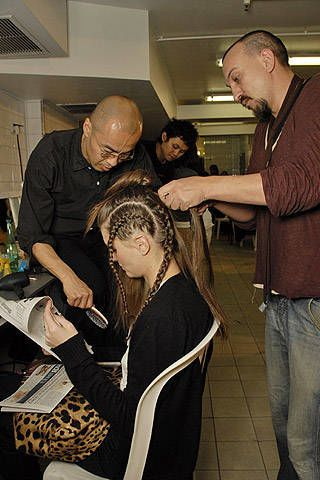 Tsumori Chisato Fall 2007 Ready-to-wear Backstage - 003