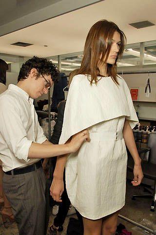 Jeremy Laing Spring 2008 Ready-to-wear Backstage - 003