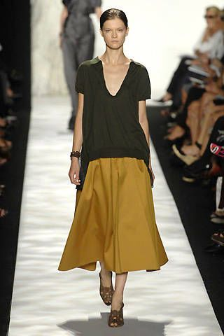 Vera Wang Spring 2008 Ready-to-wear Collections - 003