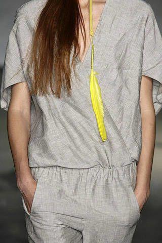 Zero Maria Cornejo Spring 2008 Ready-to-wear Detail - 002