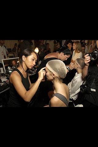 Diesel Spring 2008 Ready&#45&#x3B;to&#45&#x3B;wear Backstage &#45&#x3B; 002