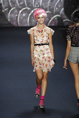 Anna Sui Spring 2008 Ready-to-wear Collections - 002