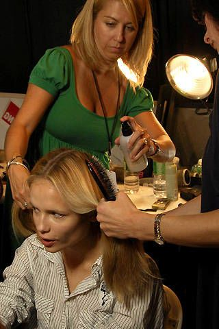 Richard Chai Spring 2008 Ready-to-wear Backstage - 003