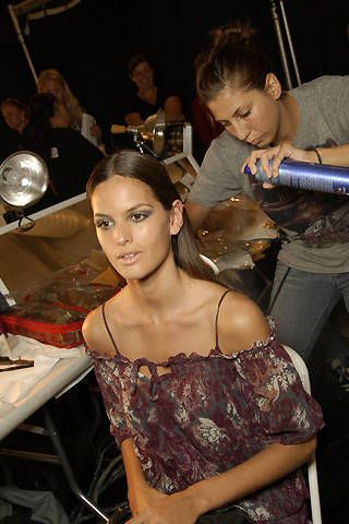 Luca Luca Spring 2008 Ready-to-wear Backstage - 003