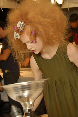 Marc Jacobs Spring 2008 Ready-to-wear Backstage - 002