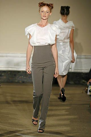 Yeohlee Spring 2008 Ready-to-wear Collections - 002