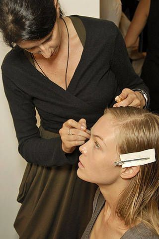Calvin Klein Spring 2008 Ready-to-wear Backstage - 003