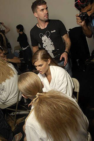 Donna Karan Spring 2008 Ready-to-wear Backstage - 003