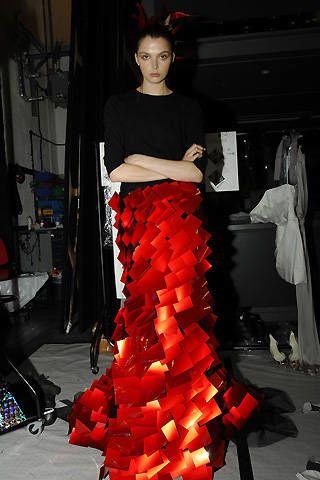 Ashley Isham Spring 2008 Ready&#45&#x3B;to&#45&#x3B;wear Backstage &#45&#x3B; 003
