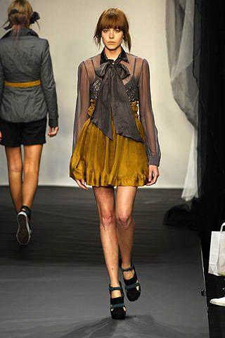 Bora Aksu Spring 2008 Ready-to-wear Collections - 003