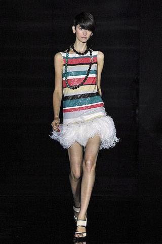 Julien Macdonald Spring 2008 Ready&#45&#x3B;to&#45&#x3B;wear Collections &#45&#x3B; 003