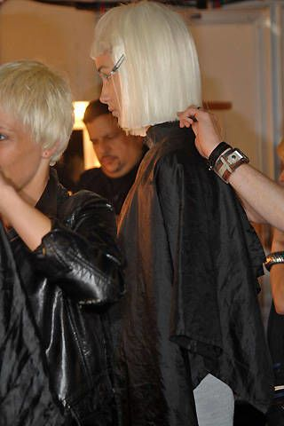 Paul Costelloe Spring 2008 Ready-to-wear Backstage - 003