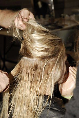 Paul Smith Women Spring 2008 Ready-to-wear Backstage - 002