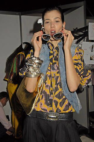 Just Cavalli Spring 2008 Ready-to-wear Backstage - 003