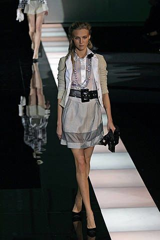 Emporio Armani Spring 2008 Ready-to-wear Collections - 002