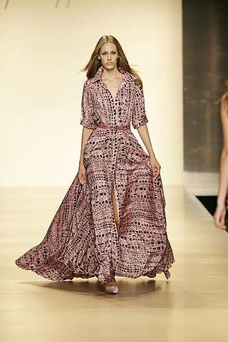 Jenny Packham Spring 2008 Ready-to-wear Collections - 002